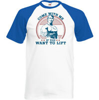 As Worn By Arnold Schwarzenegger Come With Me If You Want To Lift Mens T-Shirt