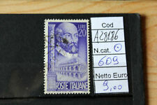 FRANCOBOLLI ITALIA REPUBBLICA USATI N. 609 (A28186)