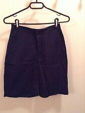 Navy Blue Lands' End shorts women's size 4