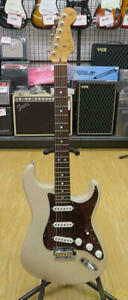 Fender Custom Shop Deluxe Stratocaster WB/R White 2013 Electric Guitar, o1331