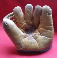 1940s Vintage  - Wasco - Baseball Glove - Mitt - Chet Laabs Model - Some Silver