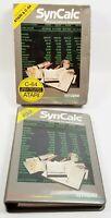 SYNCALC Spreadsheet Software for Atari 400 / 800 / XL