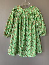 Lolly Wolly Doodle Girls Christmas Dress 4T Long Sleeve Multicolored Candy