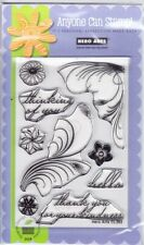 FEATHER GRASS - Hero Arts Poly Clear Stamp Set