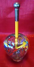 1999 - Signed - James Moody - Hot Air Balloon Paperweight - Pencil Holder - L@@K
