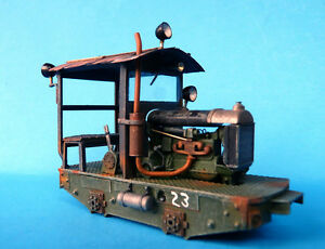 On30 OR On3 WISEMAN MODEL SERVICES M-105 FORDSON POWERED CRITTER LOCOMOTIVE KIT