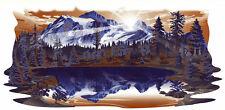1 RV TRAILER North Trail MOUNTAIN SCENE DECAL GRAPHIC-725
