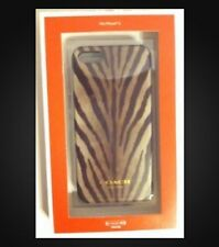 Coach iPhone 5 Or 5s Case Brown Zebra NEW IN BOX $48