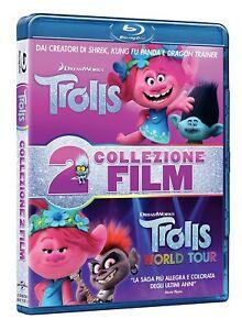 TROLLS Collection (2 Blu-Ray) con Trolls e Trolls World Tour - Cof. Unico