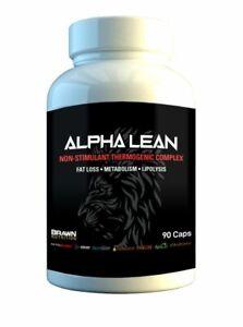 Brawn Nutrition Alpha Lean (90 Capsules) Fat Loss, Metabolism, Lipolysis