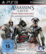 Ps3 PlayStation 3 figuras assassins creed la americana saga Black Flag liberation 3+4