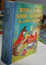 ENID BLYTON - Boys' and Girls' Story Book No 3 ;  hardback {c1930's} 1st edit