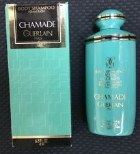 CHAMADE by Guerlain Paris Women Body Shampoo 6.8 Oz Vintage