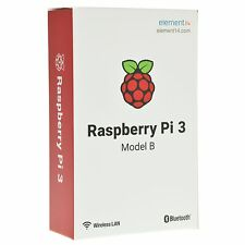 Raspberry Pi 3 Model B Quad Core WiFi 1.2GHz 64bit CPU 1GB RAM & Bluetooth 4.1
