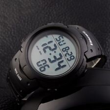 SKMEI Waterproof Outdoor Sport Army Watch Digital LED Quartz Men's WristWatches