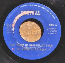 GOSPEL FUNK 45: APOSTLES OF MUSIC Wade in the Water/Look Where He Brought Us