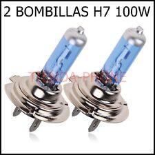H7 12V 100W BOMBILLA LAMPARA HALOGENA EXTRA BLANCO *Envío GRATIS desde España*