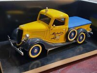 Solido 1936 Ford Pickup Michelin Man Tire Delivery Truck 1:18 Scale Diecast