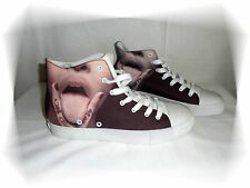Zapatillas Cantidades De Fantasía Motivo Boca Marrón Crudo Boom Bap Wear