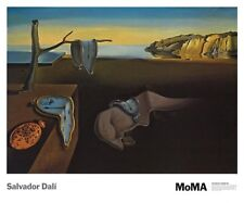 The Persistence of Memory, 1931 by Salvador Dali Art Print MOMA Poster 24x27