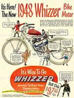 ADVERT WHIZZER BIKE MOTOR POWER TRANSPORTATION 30X40 CM ART PRINT POSTER BB7204