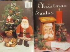 Christmas Santas Painting Book-Jane Roe, Paperback, 1990