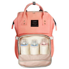 LAND Multifunctional Baby Diaper Nappy Backpack Waterproof Large Changing Bag