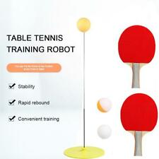 Elastic Soft Shaft Rebound Table Tennis Trainer Including PingPong Racket Set