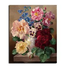 """Vintage Flower 16X20"""" Paint By Number Kit DIY Acrylic Painting on Canvas SPA1818"""