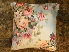 "Rare/Discontunued Ralph Lauren Stone Harbor 18"" x 18"" Down Decorative Pillow"