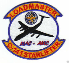 C-141 STARLIFTER LOADMASTER PATCH, MILITARY AIRLIFT COMMAND, AIR MOBILITY CMD  Y