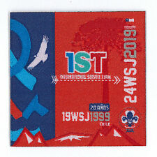 2019 World Scout Jamboree CHILE / CHILEAN IST EIS STAFF SCOUTS Contingent Patch