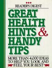 Great Health Hints & Handy Tips (Reader's Digest General Books) Hardcover