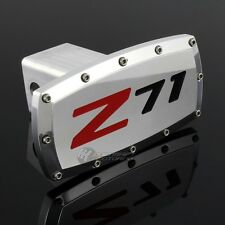 "CHEVROLET Z71 Hitch Cover Plug Cap 2"" Trailer Tow Receiver W/ ALLEN BOLTS DESIGN"