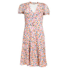 DOLCE & GABBANA Dress Multi-Coloured Rose Floral Silk Size 40 / UK 8 WR 124
