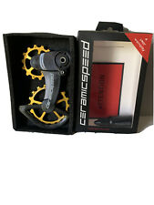Ceramicspeed OSPW X Gold Bling Pulleys X SRAM Rival 1 Force 1 Type 3