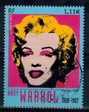 timbre France n° 3628 oblitéré année 2003