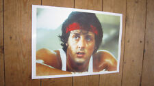 Sylvester Stallone Rocky on the Ropes POSTER