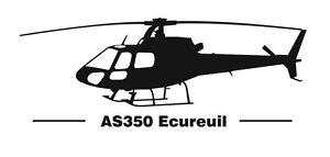 Aérospatiale AS350 Ecureuil Aufkleber