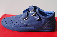 Chaussures Homme 42 Baskets Double Identity Single Strap Sneakers Tennis UK8 New