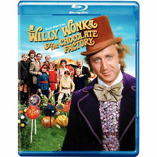 Willy Wonka and the Chocolate Factory (Blu-ray) ~ New & Factory Sealed!