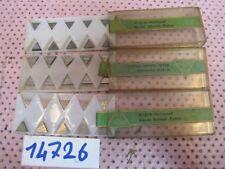 30 Stück WIDIA 213 56 312 Schneidplatten Wendeschneidplatten Wendeplatten #14726