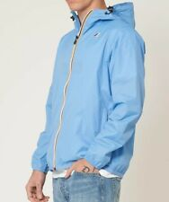 k way jacket Rain Le Vrai 3.0 Blue Azure M NWT