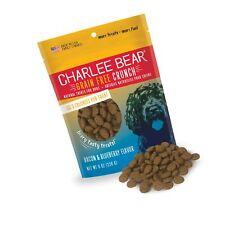 New listing Charlee Bear Grain-Free Bear Crunch Bacon & Blueberry Flavor 8 oz