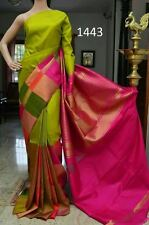 A1 Creation Multi Colour Heavy Bhagalpuri Printed Fashion Saree Unstiched Blouse