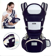 Baby Carrier, 6-in-1 Multifunction Baby Carrier Hip Seat for 0-36 Month Baby