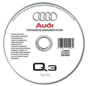 Audi Q3 (U86) 2011-2018  manuale officina repair manual
