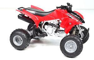 Honda TRX 450 R Atv Quad Red scale 1:12 From NewRay