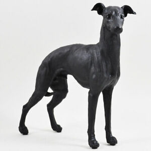 Standing Greyhound Figurine Statue Sculpture Dog Whippet Ornament NEW IN