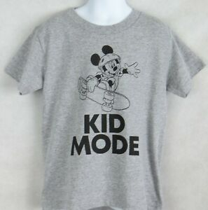 Disney Mickey Mouse Boys T-Shirt Officially Licensed Skateboard Kid Mode